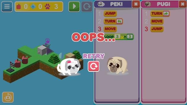 Pek & Pug - Program Puppies, Solve Puzzles screenshot 4