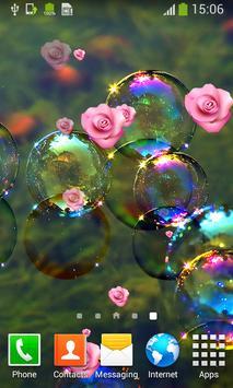 Bubble Live Wallpapers apk screenshot
