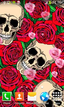 Skulls Live Wallpapers apk screenshot