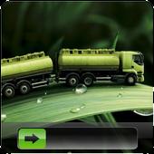 Green Leaf GO Locker Theme icon