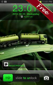 Green Leaf GO Locker Theme poster