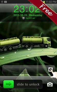 Green Leaf GO Locker Theme apk screenshot
