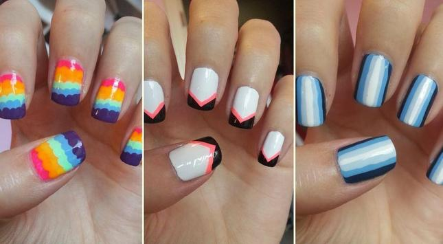 Cool Nail Manicure Art Designs screenshot 2