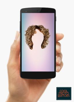Curly Hair Styler Photo Editor App screenshot 1