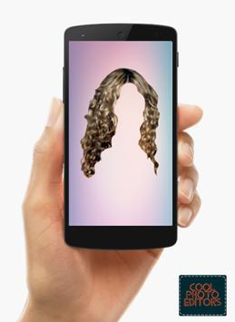 Curly Hair Styler Photo Editor App screenshot 2