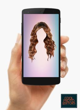 Curly Hair Styler Photo Editor App screenshot 3