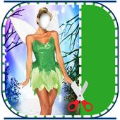 Fairy Princess Dress Photo Montage icon