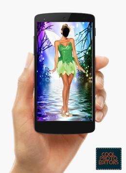 Fairy Princess Dress Photo Montage poster