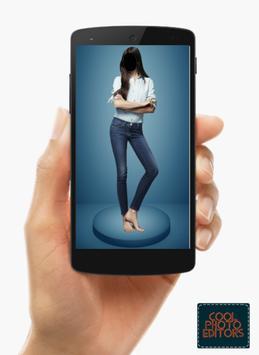 Jeans Top Girl Photo Maker Montage screenshot 10
