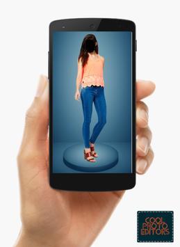Jeans Top Girl Photo Maker Montage screenshot 6