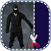 Ninja Photo Suit Montage Editor icon