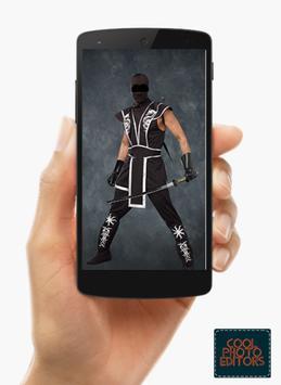 Ninja Photo Suit Montage Editor screenshot 13