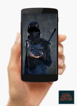 Ninja Photo Suit Montage Editor screenshot 1