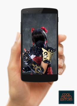 Ninja Photo Suit Montage Editor screenshot 2
