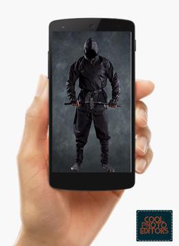 Ninja Photo Suit Montage Editor screenshot 4