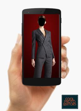 Women Suit Photo Editor poster