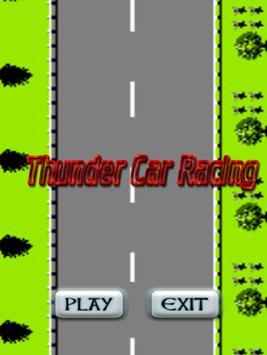 Thunder Car Racing poster