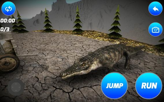 Dangerous Crocodile Simulator apk screenshot