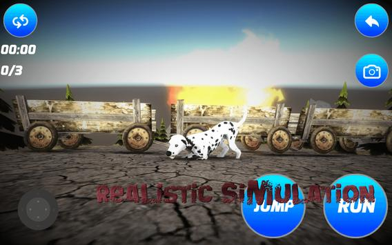 Stained Dalmatian Simulator apk screenshot