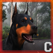 Fast Doberman Simulator icon