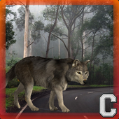 Old Forest Wolf Simulator icon