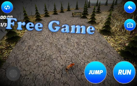 Crafty Fox Simulator poster