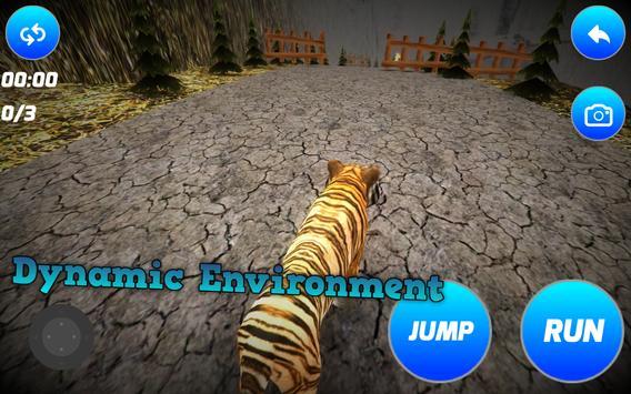 Alone Tiger Simulator poster