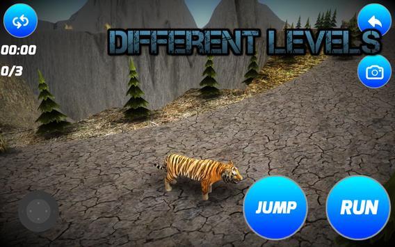 Alone Tiger Simulator apk screenshot
