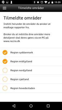 Razzia.dk apk screenshot