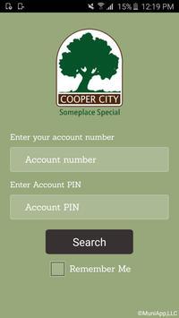 Cooper City Utilities App poster