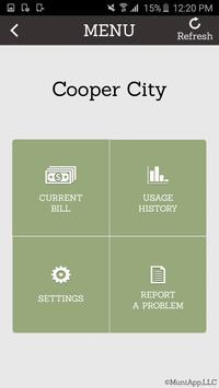 Cooper City Utilities App apk screenshot