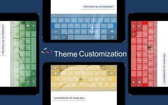 TouchPal X Keyboard updater screenshot 7