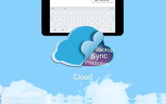 TouchPal X Keyboard updater screenshot 16