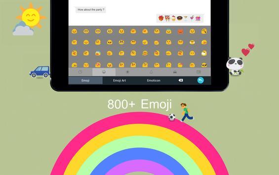 TouchPal Bosnianlatin Keyboard apk screenshot