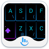 TouchPal Neon Light Theme icon