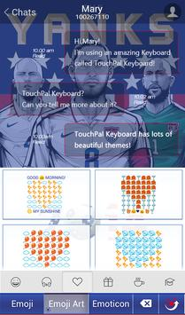 TouchPal USA_FIFA Theme screenshot 2