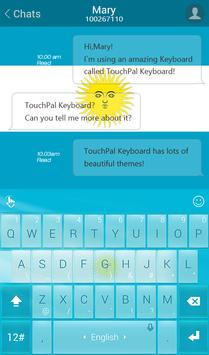 TouchPal Go Argentina Theme screenshot 1