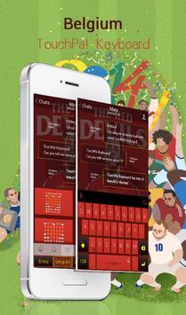 TouchPal Belgium_FIFA Theme poster