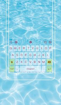 Go To Swimming Keyboard Theme poster