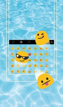 Go To Swimming Keyboard Theme screenshot 1