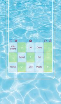 Go To Swimming Keyboard Theme screenshot 2