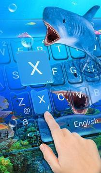 3D Ocean Shark poster