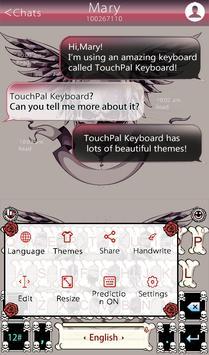 TouchPal Tattoo Keyboard Theme screenshot 2