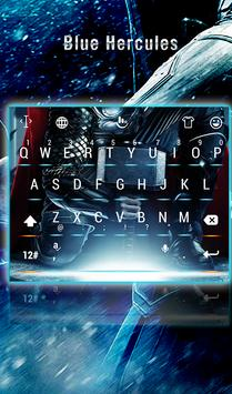 Blue Hercules Keyboard Theme poster