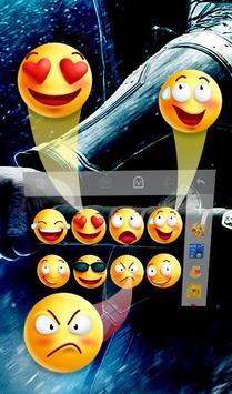 Blue Hercules Keyboard Theme screenshot 4