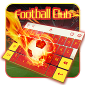 The Best Football Club Keyboard Theme icon