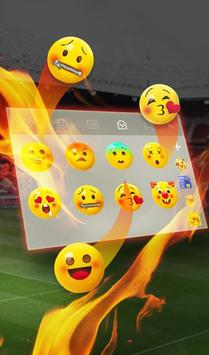 The Best Football Club Keyboard Theme screenshot 4