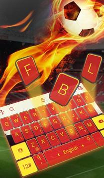 The Best Football Club Keyboard Theme screenshot 1