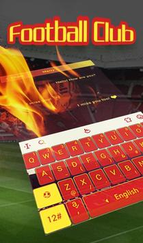 The Best Football Club Keyboard Theme screenshot 2