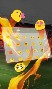 The Best Football Club Keyboard Theme screenshot 3